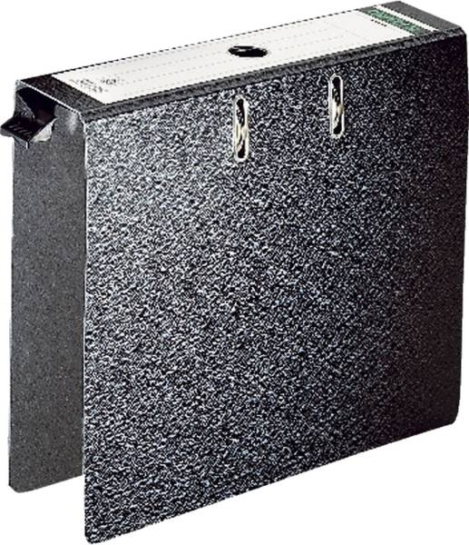 Hängeordner Hartpappe A4, 80 mm, schwarz
