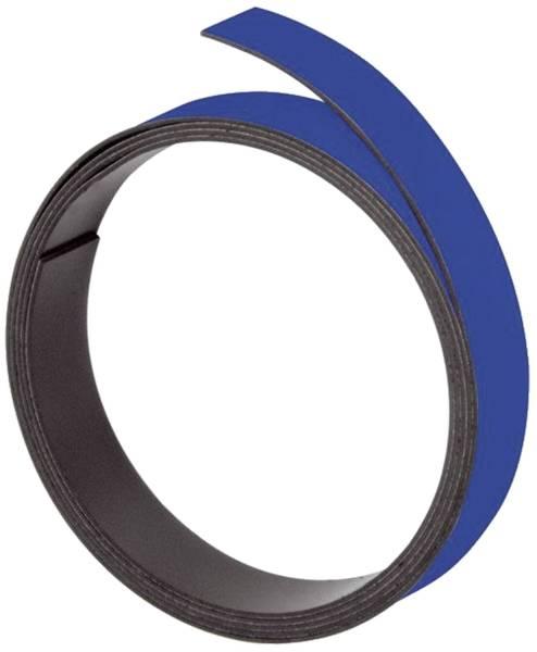 Magnetband 100 cm x 10 mm, blau