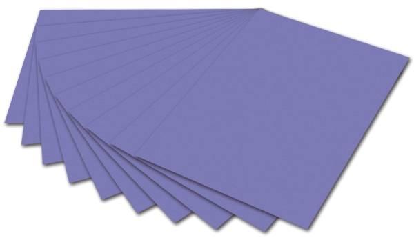 Tonpapier 50 x 70 cm, veilchenblau