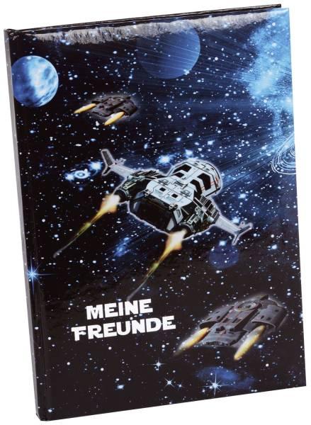 Freundebuch Raumschiff A5