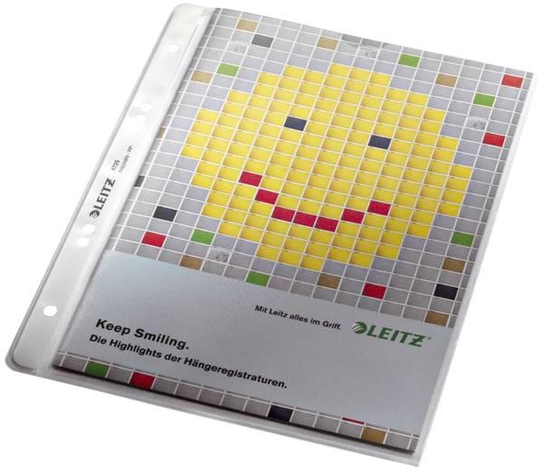 4725 Prospekthülle Premium mit Einreißschutz, A5, PP, genarbt, dokumentenecht, farblos