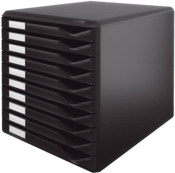 5294 Schubladenset Formular Set, 10 Schubladen, schwarz
