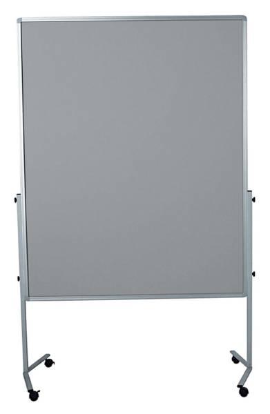 LEGAMASTER Moderatorentafel grau 120x150 cm 7-204500 Filzbezug