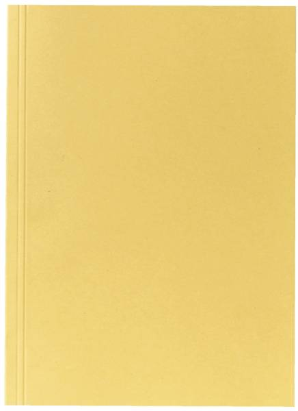 Aktendeckel A4 gelb, Manilakarton 250 g qm