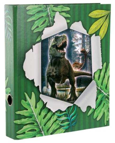 GOLDBUCH Ordner A4/5cm 3D T-Rex 35 178