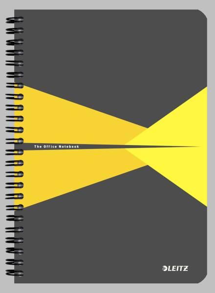 Collegeblock Office PP A5 liniert gelb