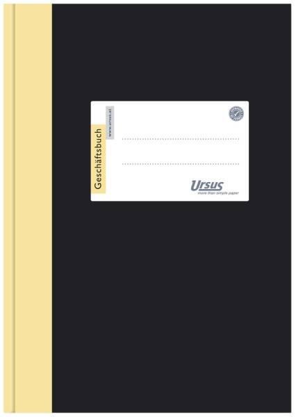 Geschäftsbuch A4, 144 Blatt, 80g qm, 5 mm kariert
