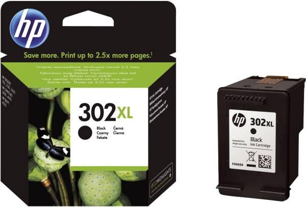 HP Inkjetpatrone Nr. 302XL schwarz F6U68AE