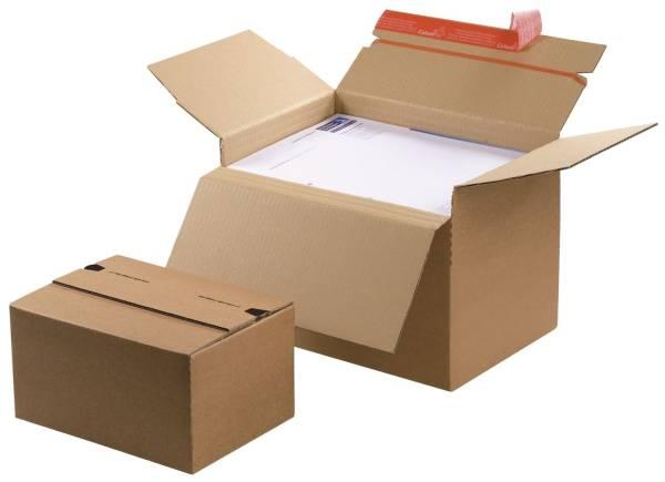 Blitzbodenkarton 312x223x140 224 mm, sk, braun, höhenvariabel