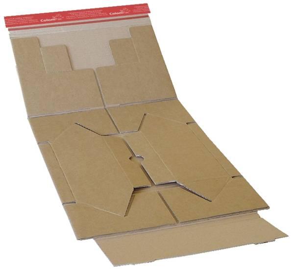 Paket Versandkarton 262 x 165 x 50 mm, braun