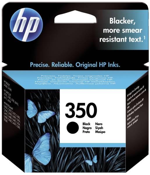 HP Inkjetpatrone Nr. 350 schwarz CB335EE Vivera