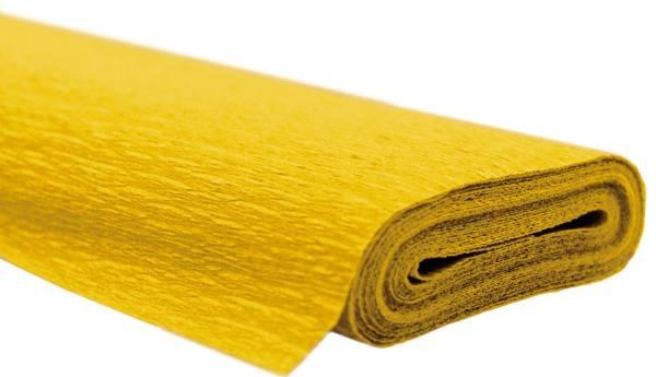 Krepppapier AQUAROLA 50 x 250 cm gelb
