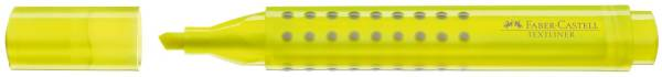 FABER CASTELL Textmarker Grip gelb nachfüllbar 154307
