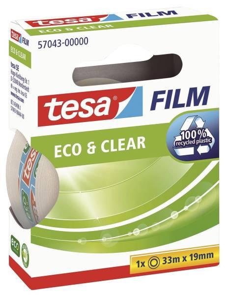Eco & Clear unsichtbar, Bandgröße (L x B): 33 m x 19 mm