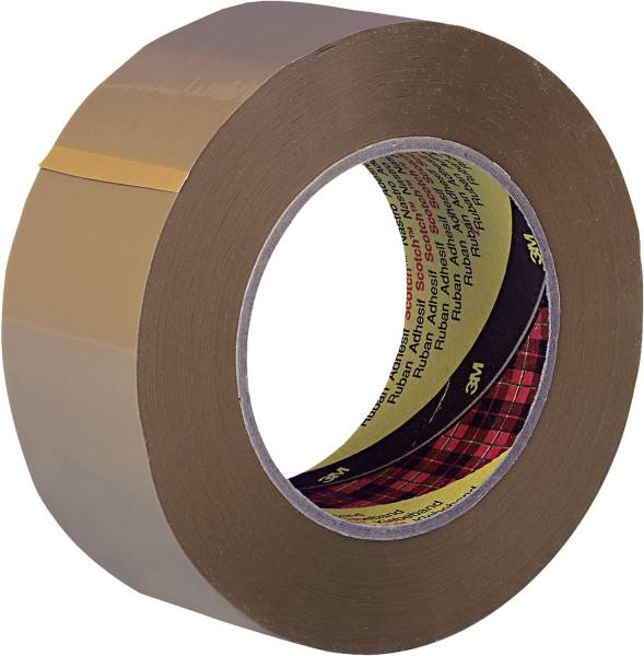 Verpackungsklebeband 6890 PVC, 66 m x 50 mm, braun