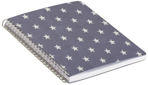 RÖSSLER Spiralnotizbuch Stella blau 18731186001 A5