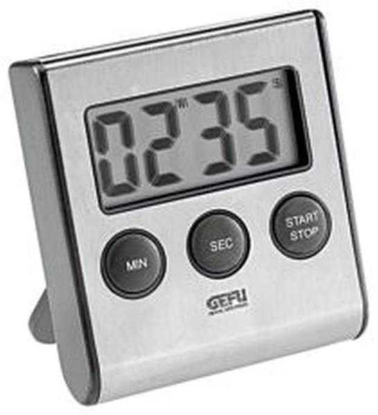GEFU Zeitschaltuhr Timer digital Edelstahl 179089
