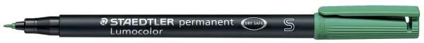 STAEDTLER Folienstift Lumocolor S grün 313-5 permanent