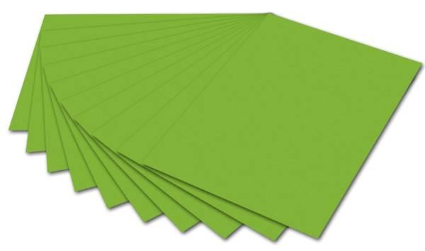 Tonpapier A4, grasgrün