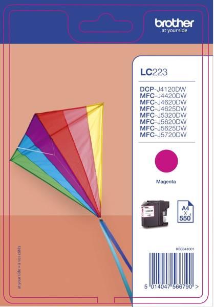 Original Tintenpatrone magenta (LC 223M)