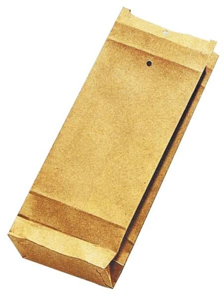 Musterbeutel 120x305x50 mm, 120 g qm, braun, 250 Stück