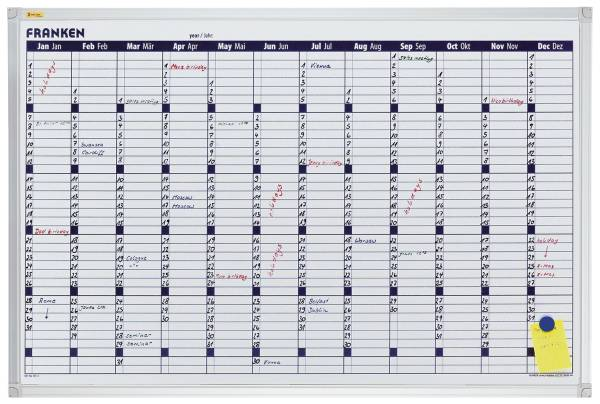 X tra!Line Kalender 12 Monate, 90 x 60 cm®