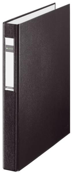 4210 Ringbuch Maxi A4, 25mm, 2 Ringe, PP, schwarz