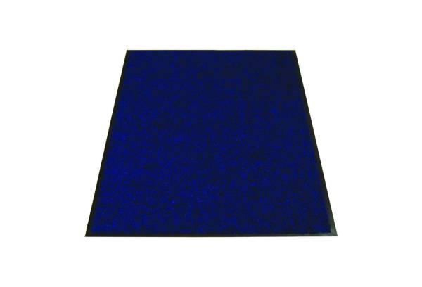 Eazycare Schmutzfangmatte für Innen, 60 x 90 cm, dunkelblau, waschbar