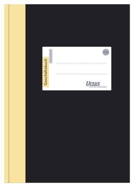 URSUS Geschäftsbuch A4 144Bl liniert 608353 80g 2921B144L