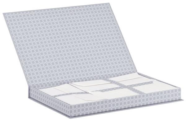 RÖSSLER Briefkassette Corner grey 10541158000 A4 DL