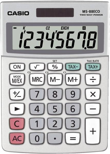 CASIO Taschenrechner 8-stellig MS-88ECO 30,7x103x145mm