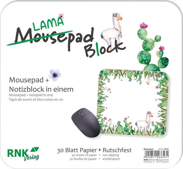 RNK Mousepad-Block Lama 30BL 46656 240x220mm