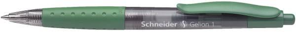 Gelschreiber GELION 1, auswechselbare Mine mit Edelstahlspitze, 0,4 mm, grün