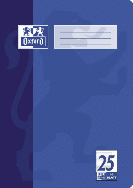 Heft A4 16 Blatt Lineatur 25