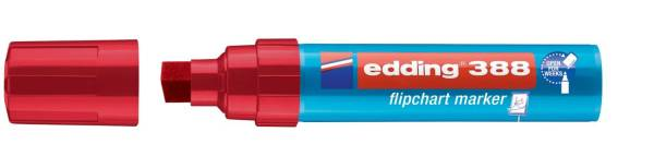 EDDING Flipchartmarker 388 4-12mm rot 4-388002 Keilspitze