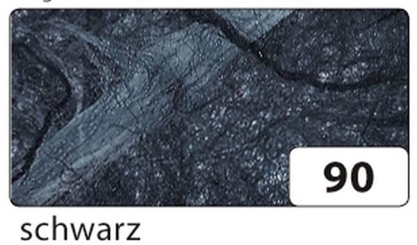 Strohseide 47 x 64 cm, schwarz