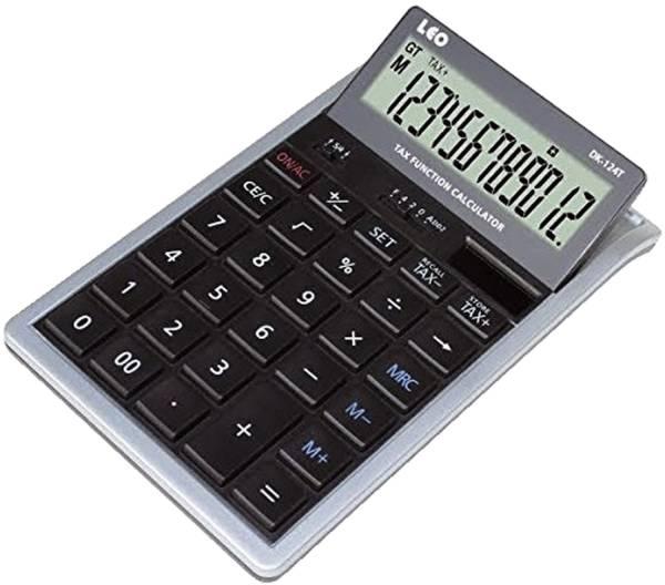 Tischrechner DK 124T 12 stellig, bewegliches Display