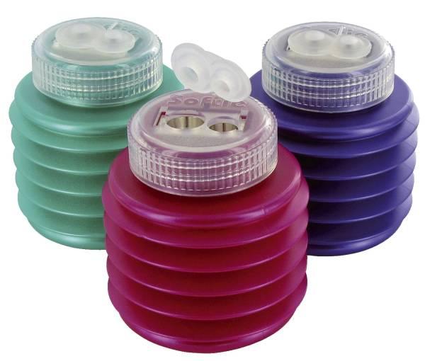 Spitzdose doppelt rund ICE farbig sortiert