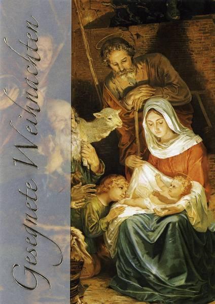 Weihnachtskarte heilig 2-LC40 Bild