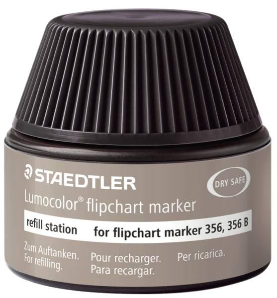 Tinte für Marker Lumocolor refill station 30 ml, schwarz®