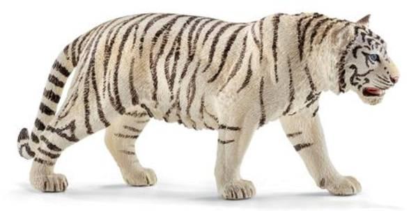 SCHLEICH Spielzeugfigur Tiger weiß 14731