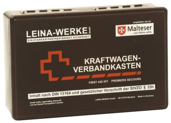 LEINA-WERKE KFZ-Verbandkasten Standard schwarz 10007