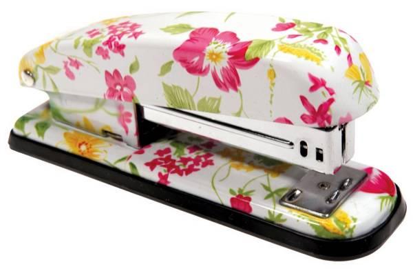 Heftmaschine Blumenmotiv X-567