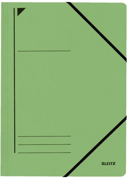 3980 Eckspanner, A4, Füllhöhe 300 Blatt, Colorspankarton, grün