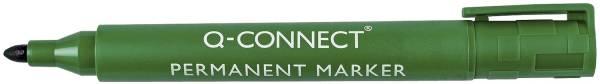 Q-CONNECT Permanentmarker M grün KF01773 Rundspitze