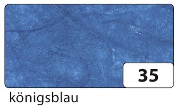 Strohseide 47 x 64 cm, königsblau