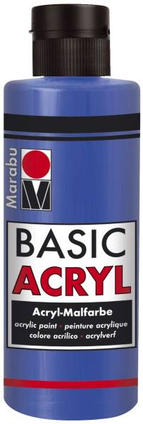 MARABU Basic Acryl mittelblau 12000 004 052 80ml