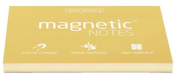 MAGNETIC NOTES Haftnotizblock statisch 100x70mm Sunshin M2011 100BL