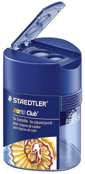 Doppel Spitzdose Noris Club 512 128 Ø 8,2 mm, Ø 10,2 mm, blau transparent®