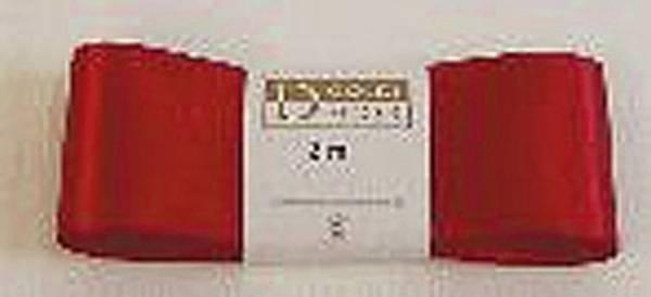 Doppelsatinband 40 mm x 3 m, rot